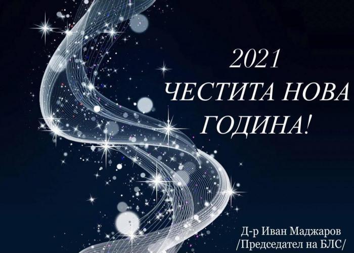 ЧЕСТИТА НОВА 2021 ГОДИНА!