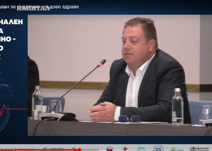 Dr. Ivan Madjarov: Can not only doctors are responsible for health, there is also the patient